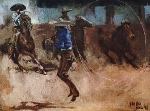 Pintura Charra Manganas A Pie Mexican Art Pinterest
