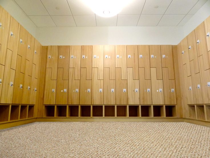 The Yes Experience Wood Lockers Can Be Custom Wood