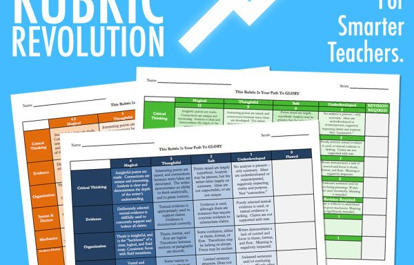 The Rubric Revolution & The Rubric Cube!
