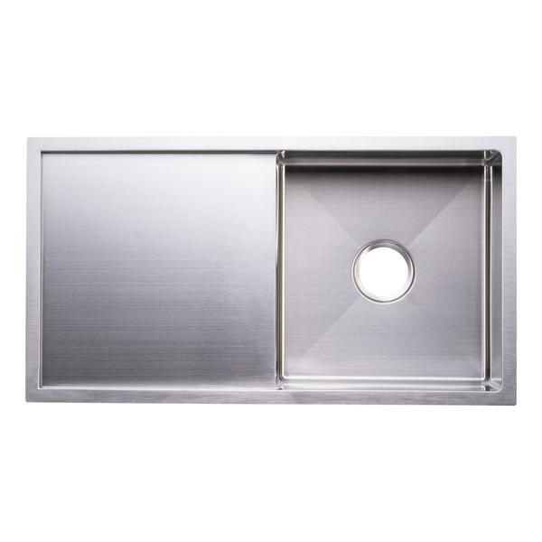 Bai 1230 Stainless Steel 16 Gauge Kitchen Sink Handmade 33 Inch