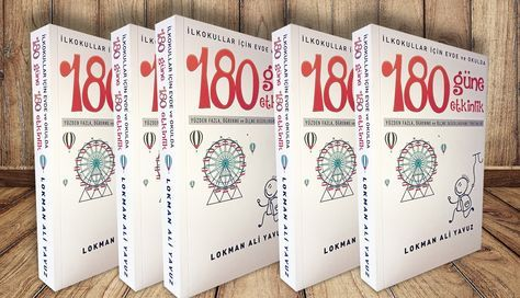 180 Güne 180 Etkinlik kitabı, öğretmen ve ebeveynler için farklı metotlarda hazırlanmış her güne bir etkinlik sunuyor.