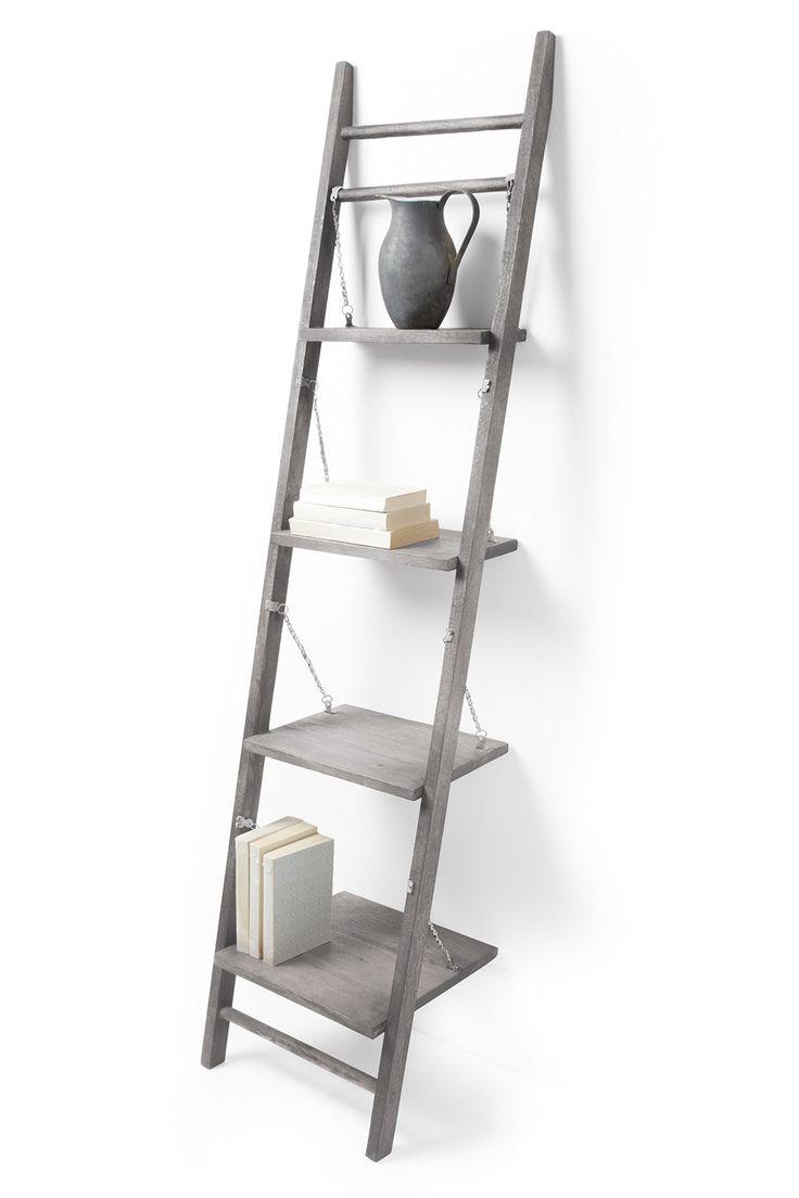 furniture ladder shelves. leaning shelves storage french connection furniture ladder