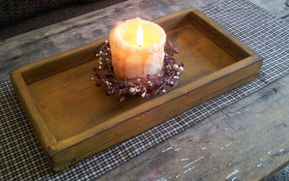 Hey, I found this really awesome Etsy listing at https://www.etsy.com/listing/163800834/primitive-candle-tray-box