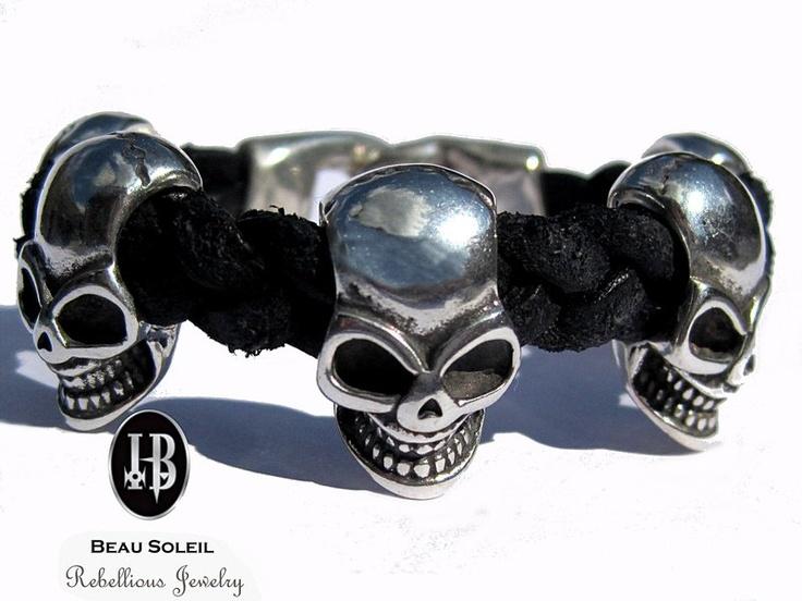 _*BEAU SOLEIL Rebellious Jewelry!*_    *Eine ausgefallene flippige Schmuck Kollektion aus hochwertigen versilberten Metallen (mit 999er Feinsilber ode