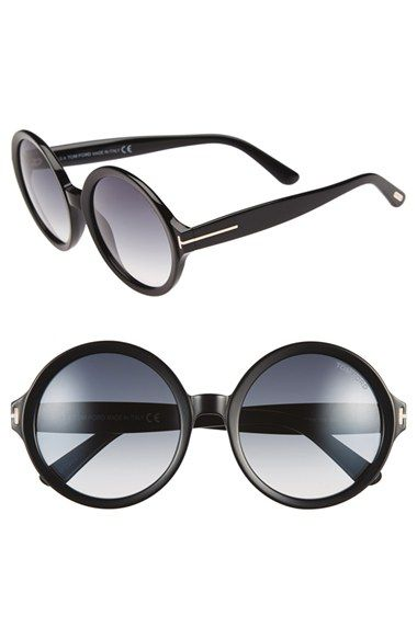 Tom Ford 'Juliet' 55mm Round Glasses