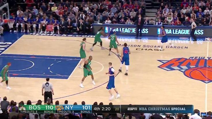 Celtics vs Knicks Carmelo Anthony 29 points Higlights NBA Games Today December 25 2016