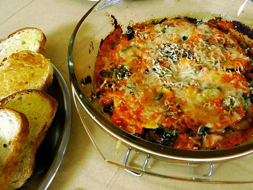 how to make eggplant parmesan without breadcrumbs