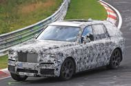 Rolls-Royce Cullinan SUV on course to rival Bentayga in 2018 New sightings of Rolls-Royce's first SUV testing flat out at the Nürburgring show soft suspension; it will get an all-wheel-drive system and rival the Bentley Bentayga  A Rolls-Royce CullinanSUV has been spotted at the Nürburgring with the car's body leaning around a corner as it tests flat out.  Its Nürburgring appearance along with the fact that the car was previously sighted parked outside of a crash test site suggests that the…