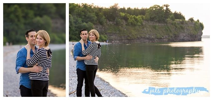 Little Bluff Conservation Area, Prince Edward County Beach Engagement Photography