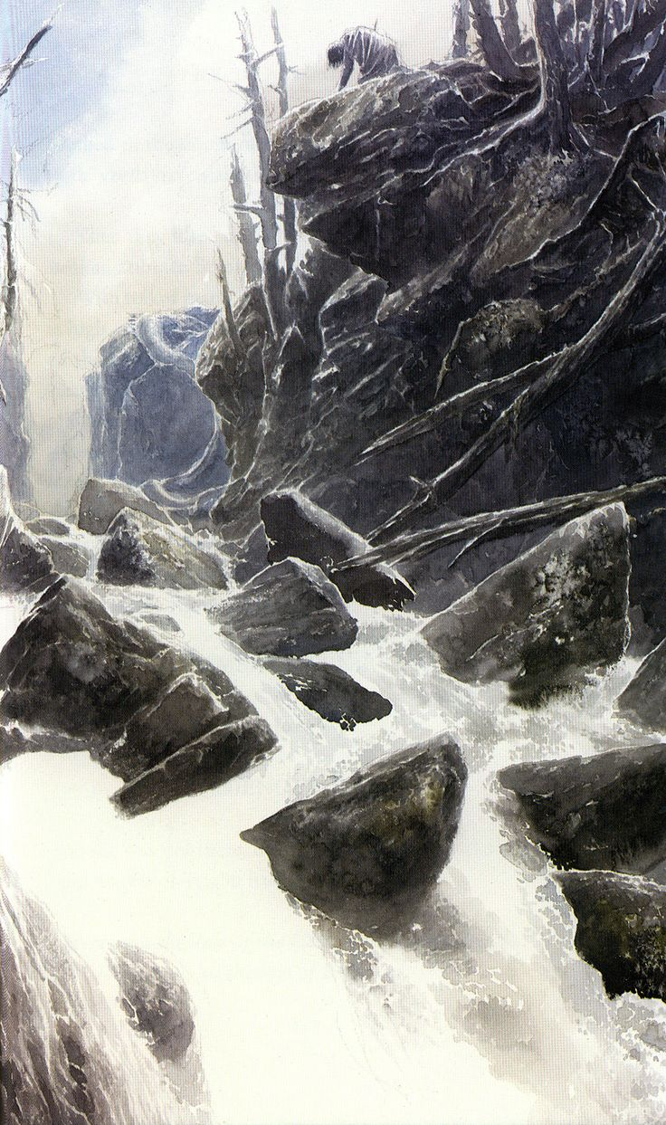 The Children of Hurin (VIII) -Alan Lee. While I do love Lee's artwork, I think this is possibly one of the most well written books on Middle Earth. It's insanely depressing but worth it.