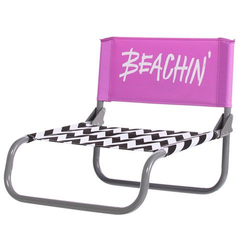 purple beach chairs | Billabong Beachin' Beach Chair