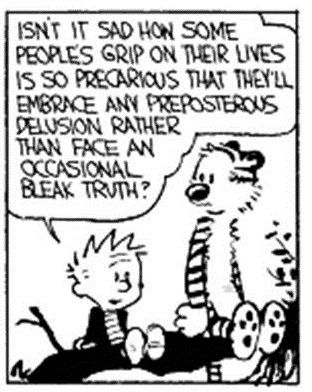 calvin and hobbes meaningful quotes