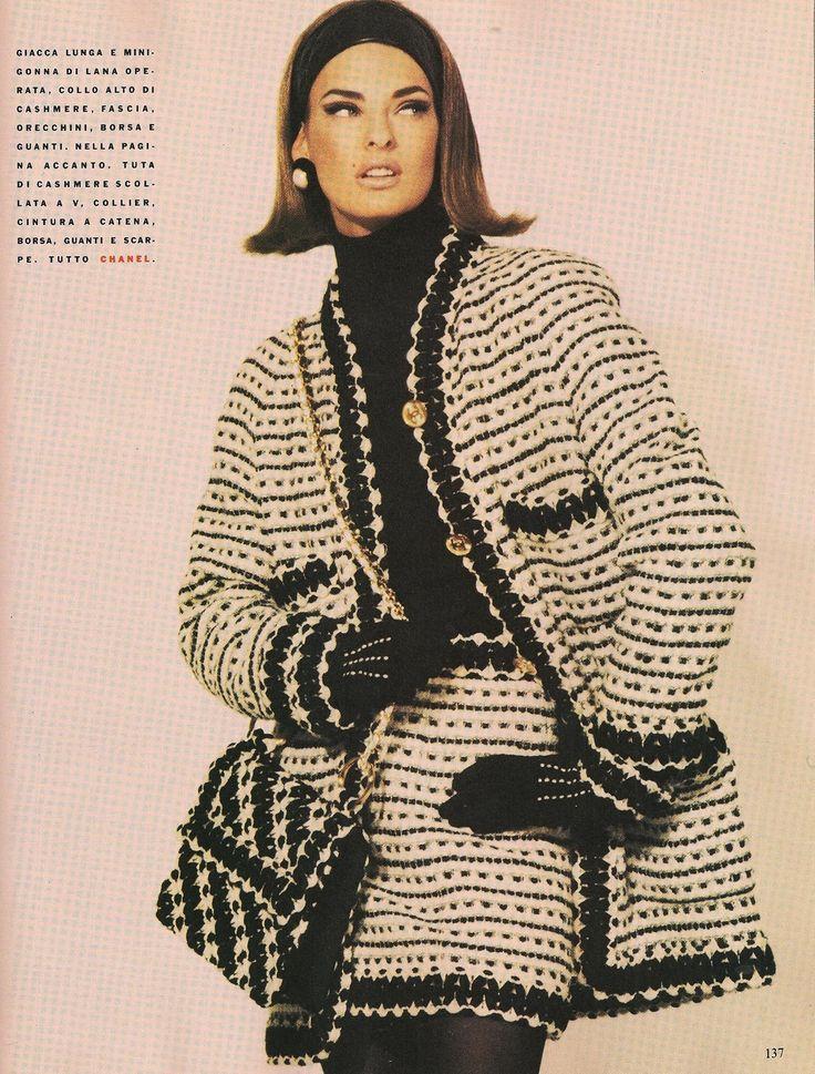 58 best vintage chanel images on pinterest fashion - Vintage chanel ...