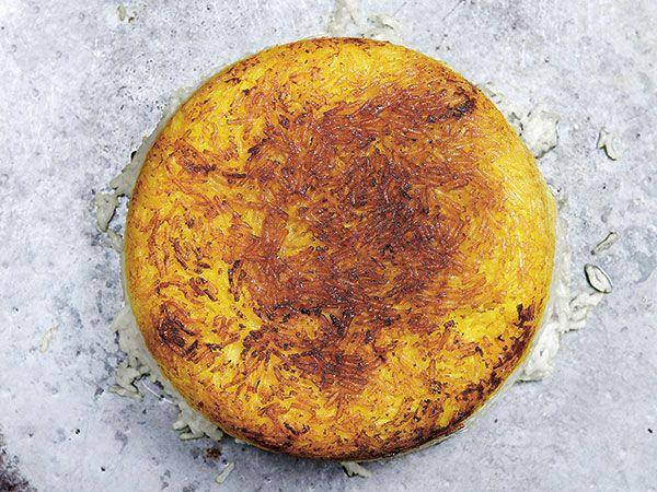 Persiskt ris med tadig | Recept.nu