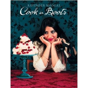 'Cook in Boots'  by Ravinder Bhogal - {A firm favourite in our household, some seriously lovely comforting recipes, with all chapters divided into different scenarios}