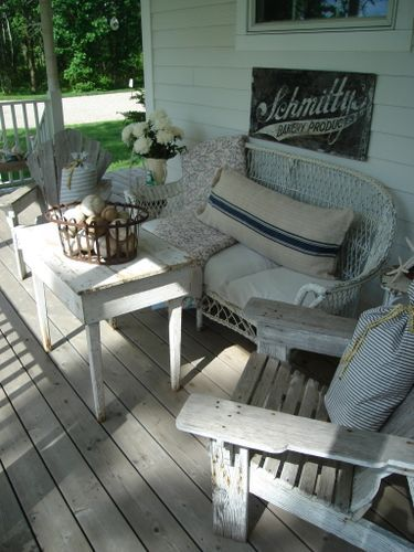 country porch for a lazy summer day