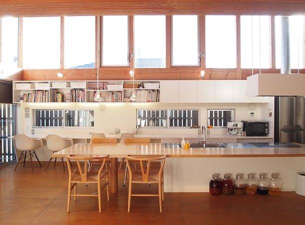 建築家:小磯一雄|KAZ建築研究室「群馬県館林市・ソラを取り込んだ住まい|空の家」