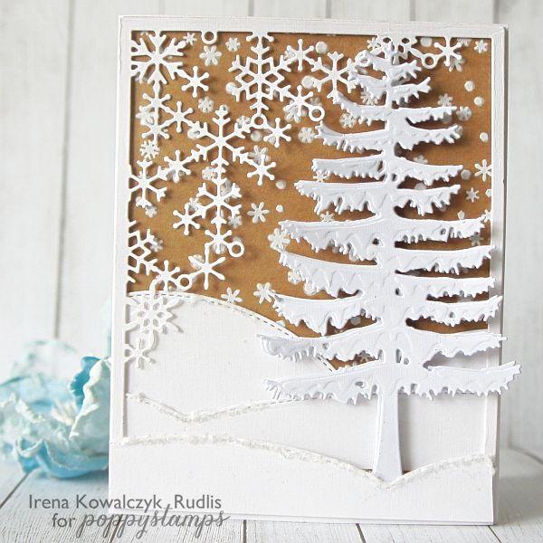Let it snow - Poppystamps