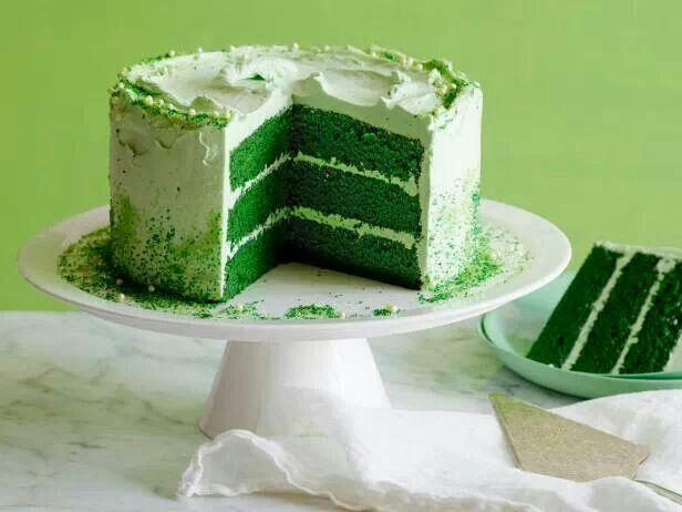 GREEN VELVET CAKE RECIPE: Perfect for St. Patrick's Day.