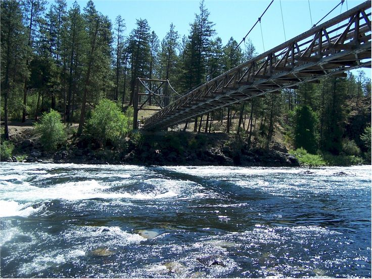 Riverside State Park -Spokane Washington.  Gonzaga University offers great access to outdoor wonders!