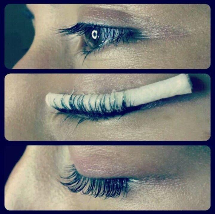 Eyelash perm: