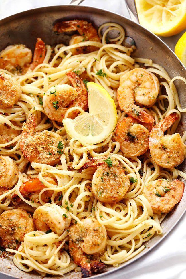 Lemon Garlic Shrimp Scampi | The Recipe Critic
