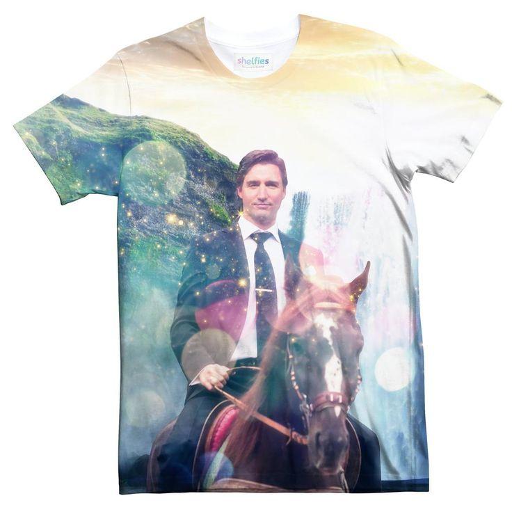 T Shirts - Dreamy Trudeau Tee