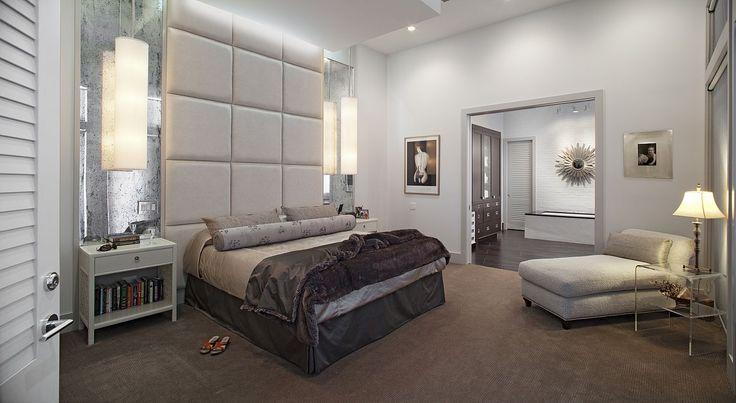 Amanda Webster Design: Classic Contemporary Master Bedroom Interior Design / Photo: Neil Rashba