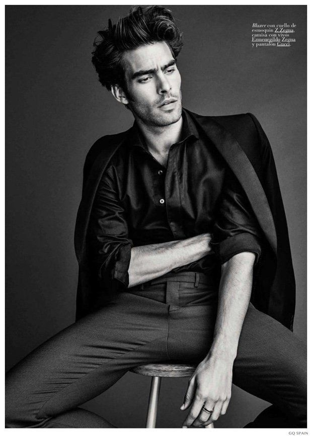 Jon Kortajarena Helps GQ Spain Celebrate 20th Anniversary image Jon Kortajarena GQ Spain 004