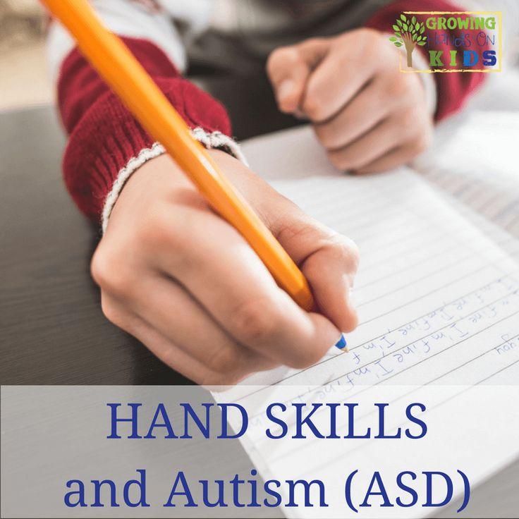 Ruční dovednosti (jemné motoriky) a jak autistického spektra porucha má vliv na jejich vývoj (přehled Od mávání do funkce)