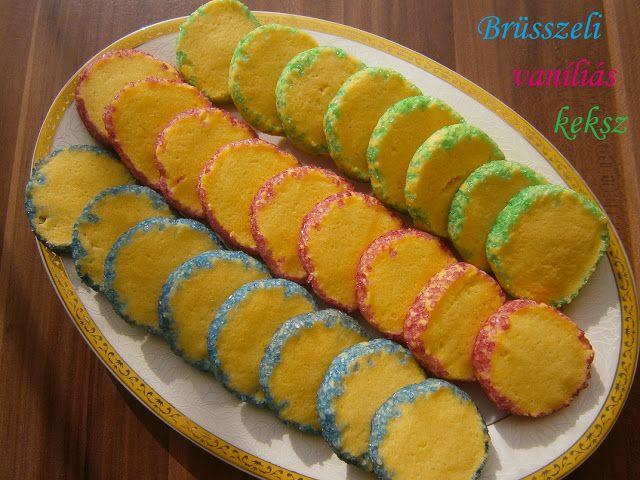 Hankka: Brüsszeli vaníliás keksz