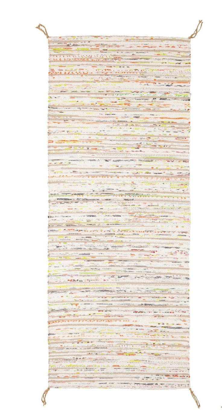 TÅNUM Tapis tissé plat, couleurs variées 17,99$