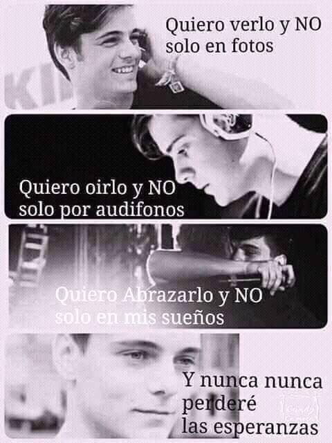 Martin Garrix..! Quiero verlo y NO solo en fotos, Quiero oírlo y NO solo en audífonos,Quiero abrazarlo y no solo en mis sueños, Y Nunca Perderé Las Esperanzas.