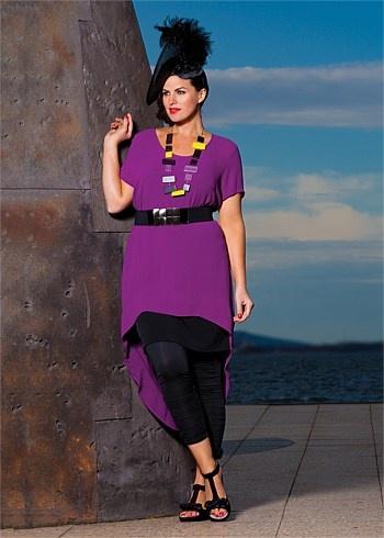 #TS14+ Heidi Pebble Stone Tunic  #plussize #curvy #racewear