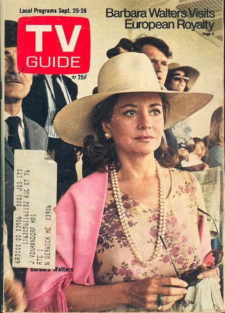 "September 20, 1975. Barbara Walters of NBC's ""Today"" and the syndicated ""Not for Women Only."""