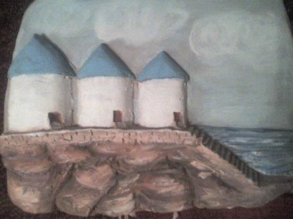 three mills chios