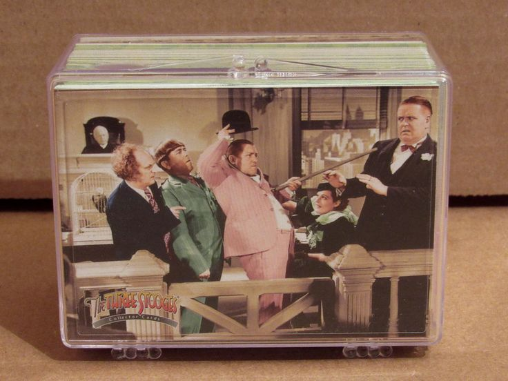 2005 Breygent The Three Stooges Collector Cards Complete 72 Card Set