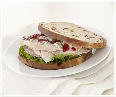 Try using up your Turkey leftovers in our Berry Delicious Turkey Sandwich