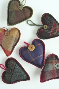 Heart of tweed