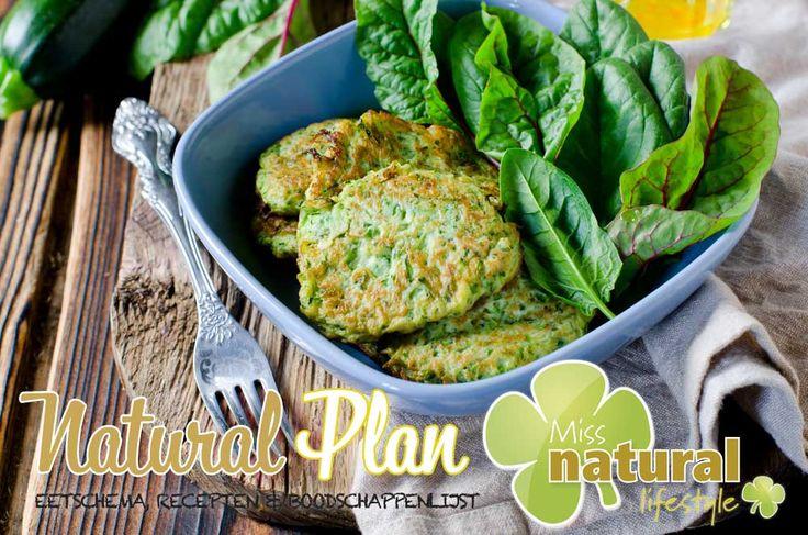Recept Courgette Koekjes uit het Miss Natural Plan november http://urly.nl/b9y