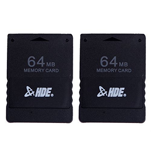 Hde 64 Mb Memory Card For Sony Playstation Ps2 Gaming Console 2