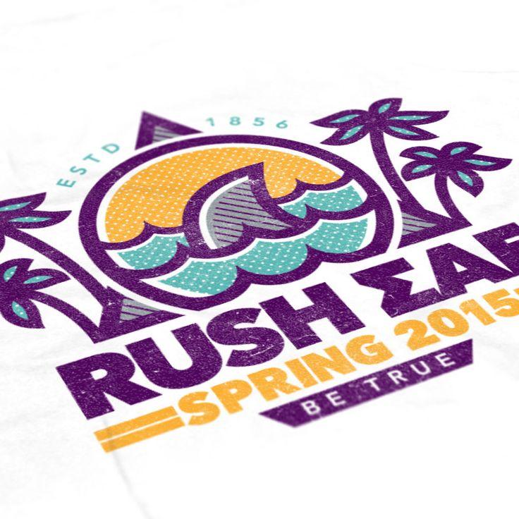 Sigma Alpha Epsilon - Rush Tank - SAE - Fraternity shirts - Check us out at B-Unlimited.com