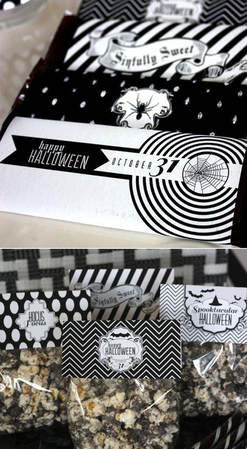 Sacchetti di Halloween neri