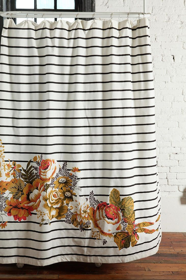 stripes and floral print. no better combination.
