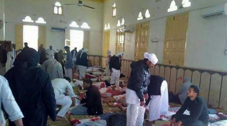 Terror auf der Sinai-Halbinsel: Massaker nach dem Freitagsgebet - SPIEGEL ONLINE - Politik