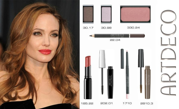 Angelina Jolie at the Oscars : Get the look with Artdeco