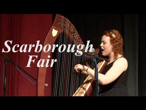 Scarborough Fair and the harp were just meant to be... Medieval themed party anyone?