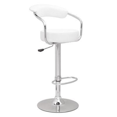 White 'Meteor' bar stool at debenhams.com