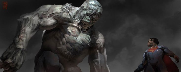 Cool Batman V Superman Concept Art Featuring Alternate Doomsday Designs