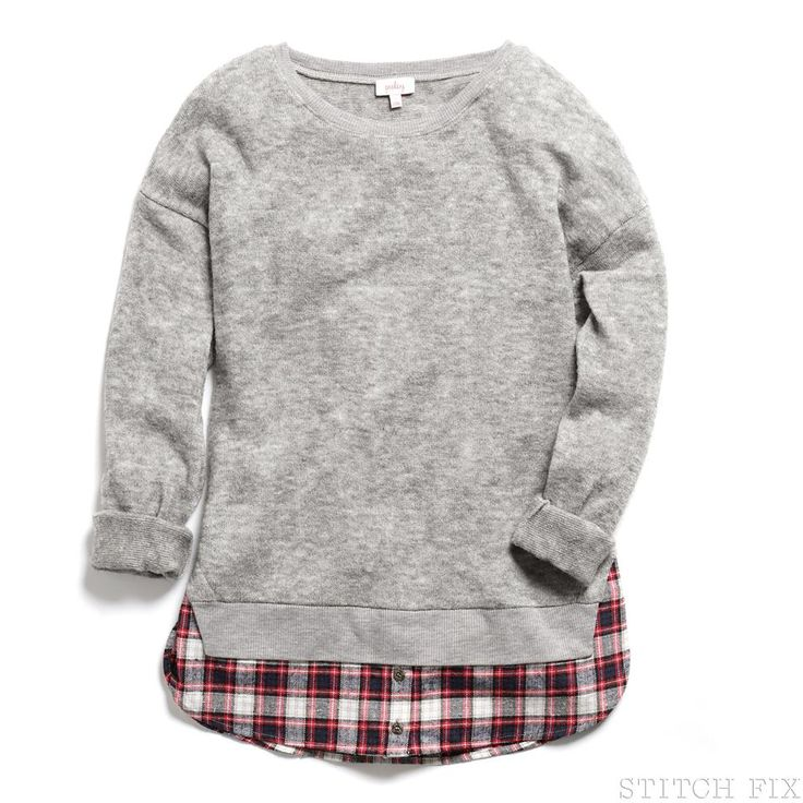 Stylist: I really want the benzer mixed material sweater. This id my first color choice